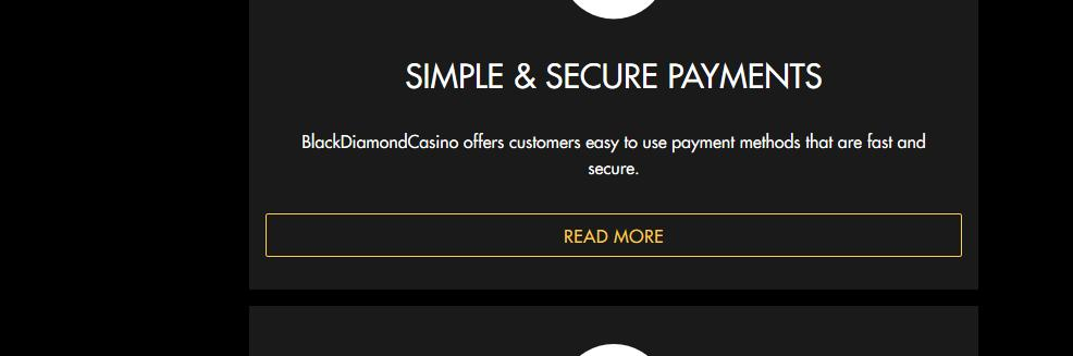 Black Diamond Casino Bonuses Codes 10